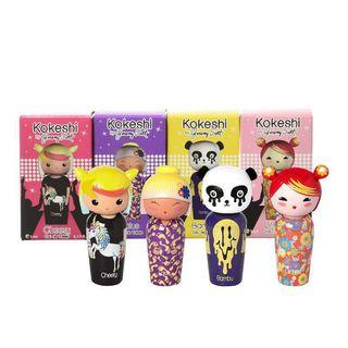 🚚 Kokeshi Miniatures Sets By Jeremy Scott 4 Miniatures EDT Set (5ml x 4)