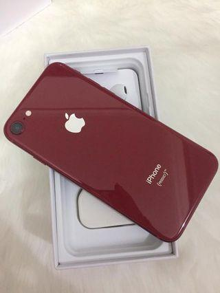 Iphone 8 red limited edition 64gb second
