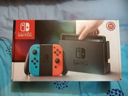 任天堂 Switch 全新公司貨 已拆封