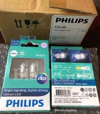 Philips t10 6000k led