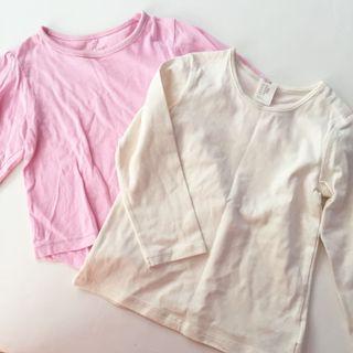 Pink & Cream top