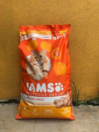 Iams ProActive Health Healthy Adult Original with Chicken Dry Cat Food, 3.5-lb bag    293 By Iams