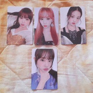 wts / wtt / iz*one heart*iz _ izone heartiz official album photocard