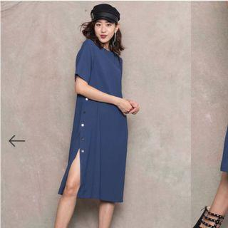 By your side button midi in Yale blue