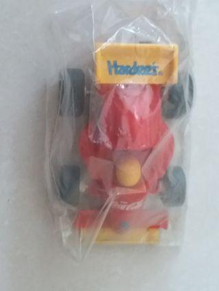 Hardees Coke formular 1 racing car