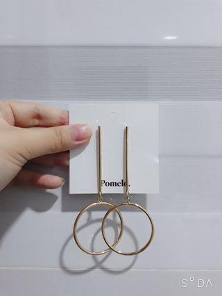 Anting Pomelo -Yukie Hoop Drop Earrings