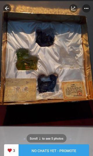 Fengshui Ancient Liu Li ornament 古法正品琉璃招财风水摆件
