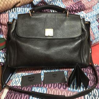 Original MCM With tassel bag