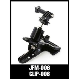 GOPRO ROTATING SPRING CLAMP CLIP JFM-006