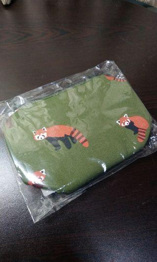 日本小熊貓化妝袋筆袋