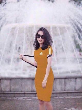 🚚 Mustard Dress