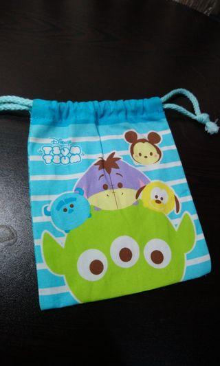 Tsumtsum索繩袋 14x17cm