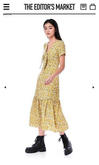 TEM Giselle Frill Hem Dress xs