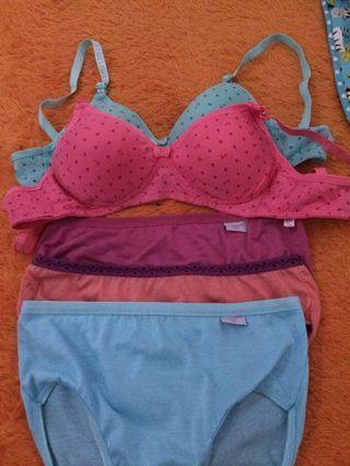 Celana dalam & bra wanita (new) takeall