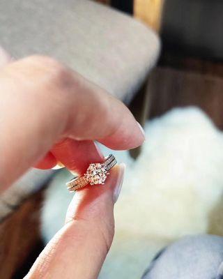 1卡高碳鑽 高仿鑽 人造鑽戒指