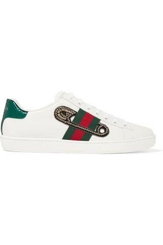 Gucci Ace Embellished Sneakers