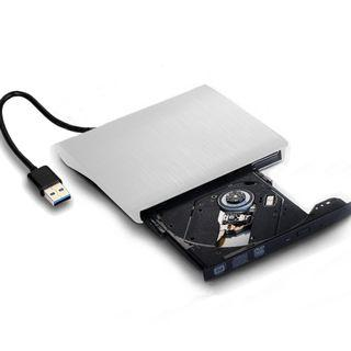 Ultra Slim External USB 3.0 CD/DVD-RW Writer Burner Player for Macbook Pro Air Imac or Other PC/Laptop