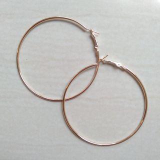 #1 Hoop Earrings / Anting Bulat Korea