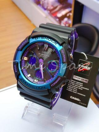 CASIO G-SHOCK TOUGH SOLAR GAS-100BL-1A (太陽能)