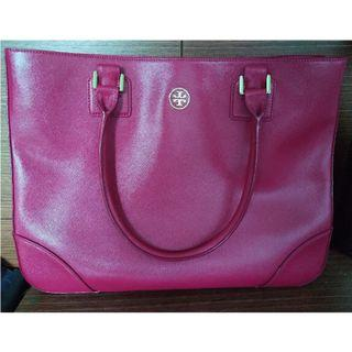 全新 Tory Burch Leather Tote Bag #thankyoubutno