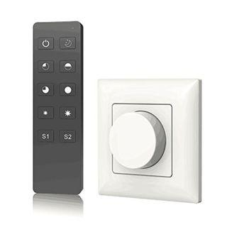 AC Triac Rotary Panel Dimmer AC Phase-Cut Dimming RF Remote