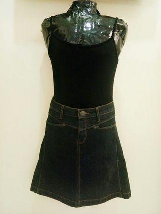 Women's jeans skirt