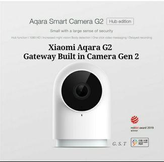 Xiaomi Aqra Gateway Built in Camera HD 1080p & 140° angel lens
