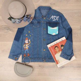 Jaket Jeans / denim jacket / andy jacket