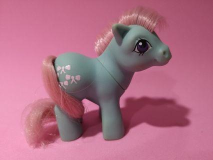 Vintage G1 My Little Pony - European Exclusive Baby Bowtie