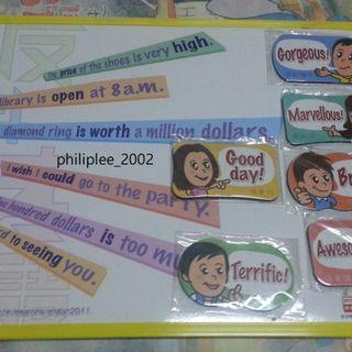 磁貼佈事板 反斗英語 宣傳紀念品