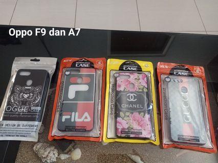 Sale@30k ! CASE Glass OPPO F9 DAN A7
