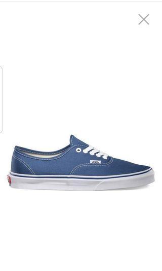 Vans Navy Blue 6