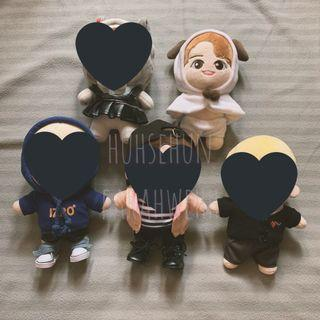 NCT Lucas baby doll (20cm)