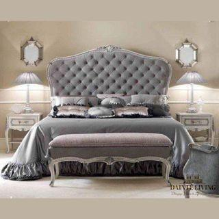 Baldwin's Tufted Bed Frame