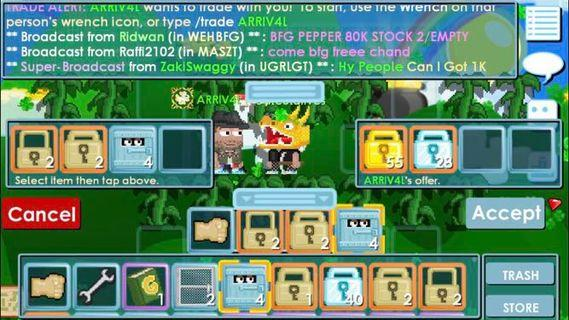 🚚 Growtopia Dls