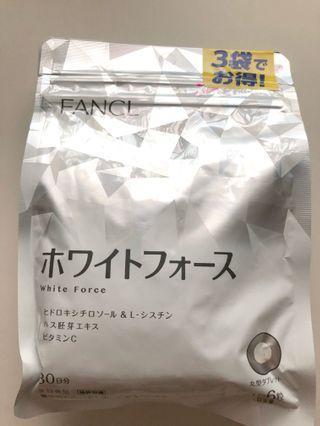 🚚 🔥Sale 2 pkts Fancl White Force pills