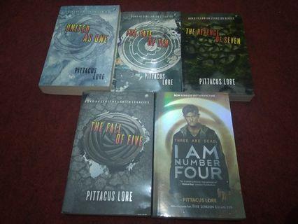 Novel I'm number four series