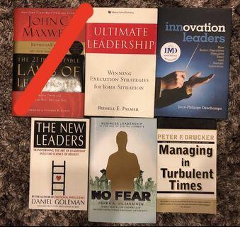 Business Books - Leadership, Management