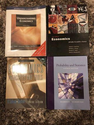 Economics & Statistics textbooks