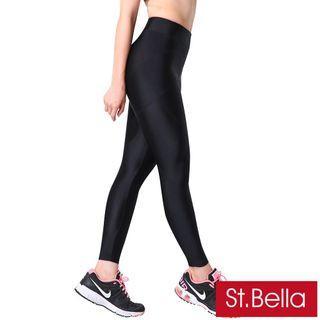 【St.Bella】分段加壓 塑腰 活力塑型美體褲褲 機能壓力內搭褲
