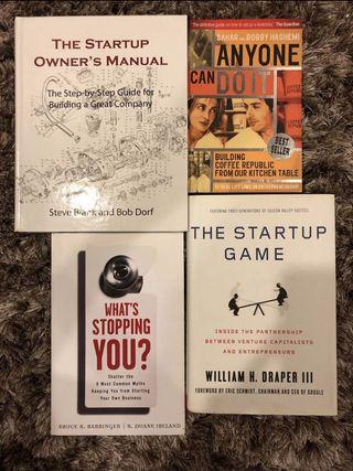 Business books - startup, entrepreneurship