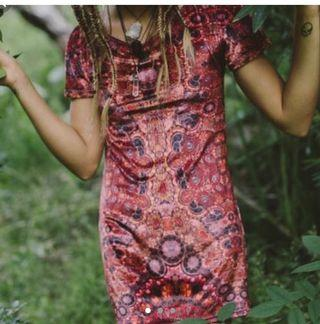 Liberated Heart Dress red