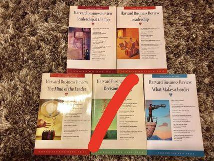 Harvard Business Review Leadership Business Books