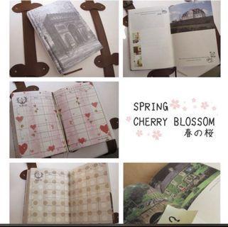 Notebook/ schedule book/ 日記/記事簿