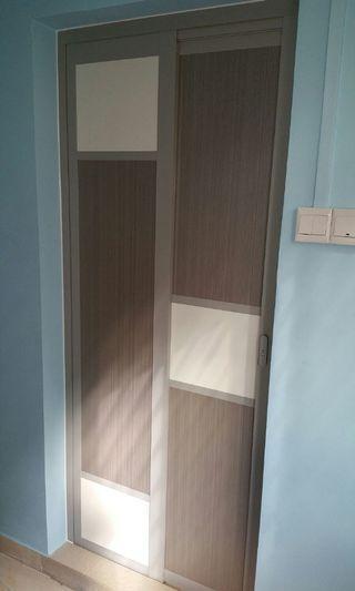 Toilet Slide & Swing Aluminium SK Door