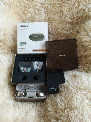 SONY WF-1000X wireless bluetooth headset, noise canceling