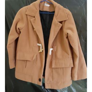 短版韓國鋪棉大衣