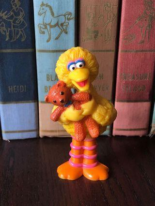 Vintage toys Figurines Sesame Street Big Bird & Bear 1997
