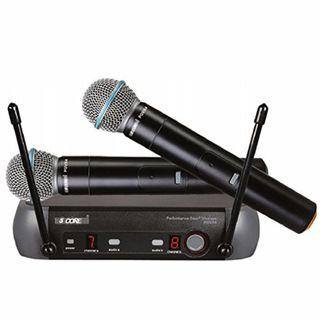 Wireless Dual Handheld Microphone/Cordless Microphone PGVX4