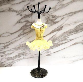 Lace jewelry hair accessories organiser rack deco
